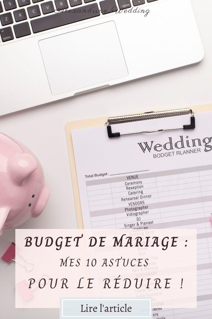 Budget mariage - Alexandrine Wedding Planner PARIS