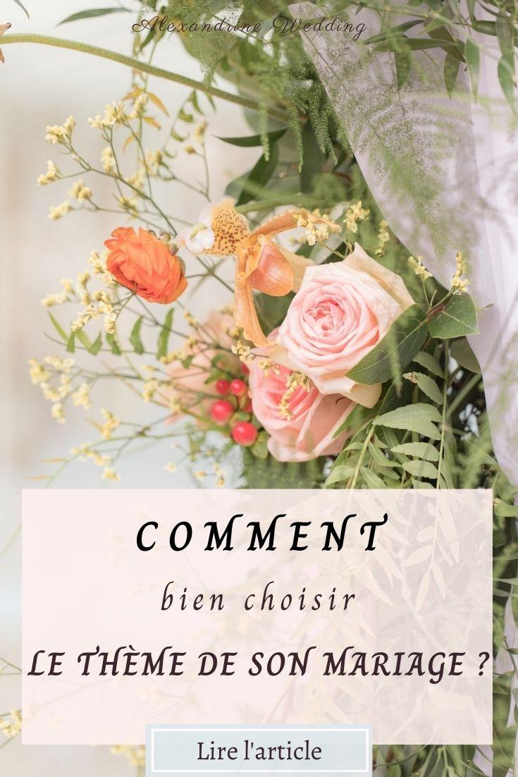 Thème mariage - Alexandrine Wedding Planner PARIS
