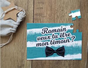 Puzzle - Alexandrine wedding planner Yvelines