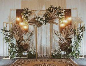 backdrop mariage - Alexandrine wedding planner Yvelines