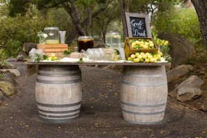 bar à limonade - Alexandrine wedding planner Yvelines