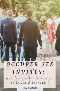 Que faire entre la mairie et le vin d'honneur - Alexandrine Wedding Planner Ile de France
